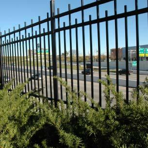 Safety Fence Black, decorative metal fence Similar in