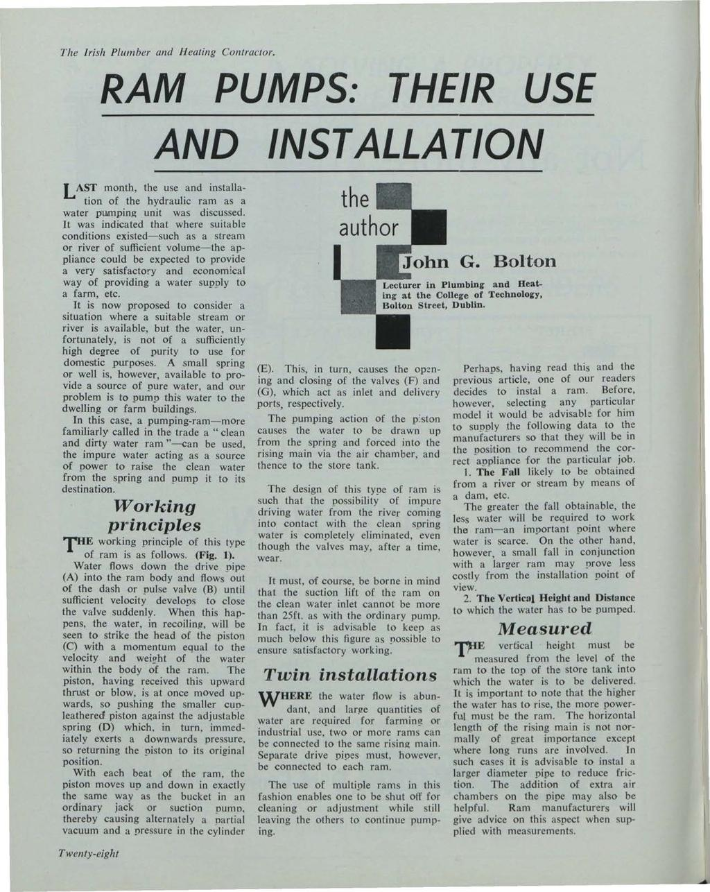 Building Services News, Vol. 2, Iss. 12 [1963], Art. 1 The Irish Plumber and Heating Contractor.