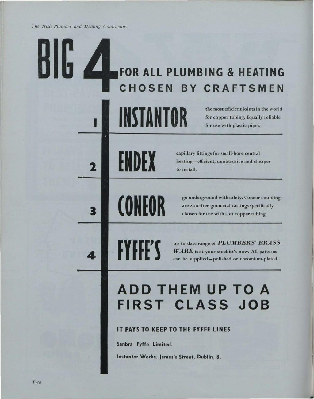 Building Services News, Vol. 2, Iss. 12 [1963], Art. 1 The Irish Plumber and H eating Contractor.