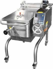 "Features include a 5 /8"" clad plate cooking surface, heating to 350 F in just four minutes, a 100-grit hand-ground finish to reduce sticking and hinged cover with torsion"