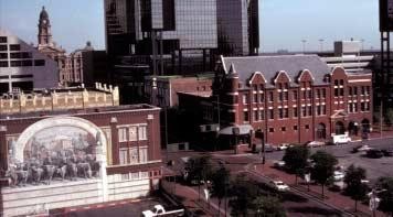 Meticulously restored historic buildings within Sundance Square bear out the Bass family belief that first-rate historic preservation makes first-rate places.