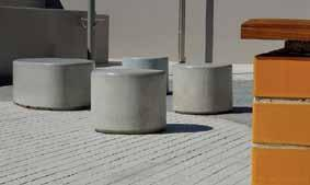 of balance, continuity, restraint and architecture. Street Furniture Several collections of GRC elements that integrate seating with planters ideal for streetscapes, plazas and shopping malls.