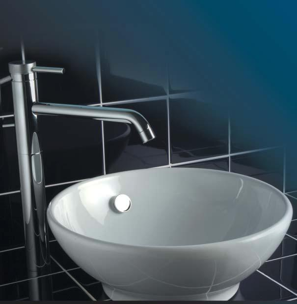 TAPS When creating the perfect bathroom it is important that total harmony is achieved.