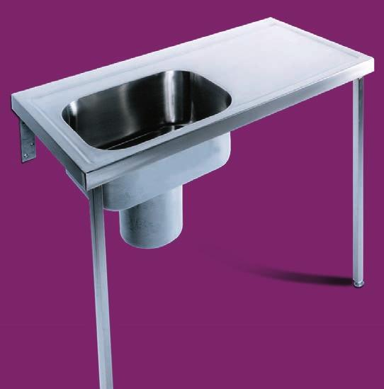 Penang - HTM64 plaster sink Penang plaster sinks are designed for use in hospitals and other areas where casting materials are prepared and soaked.