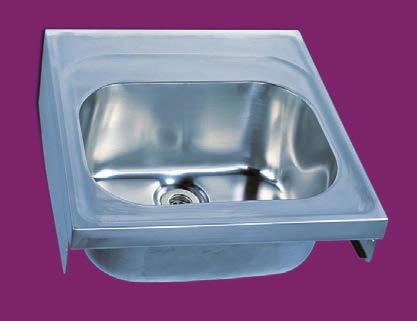 Sark - HTM64 sink Salzburg - Flotation bath HS0660SN SH2920 700mm HS0660SN SH2920 Versatile single or double bowl sinks without overflow that can be wall mounted.