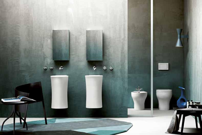 593 NUV100E/BTWWC Close Coupled and short projection WCs Mini Wall-Hung WC Includes: pan and soft-close seat Size: 46x35x33cm Weight: