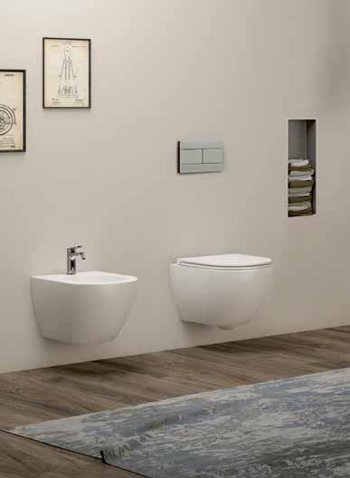 Basin Wall-Hung Size: 80x50x16 Weight: 26kg 362 COM80B1/S Ceramic