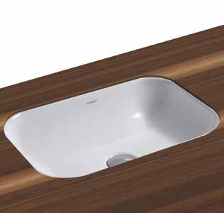 Glaze Wall-Hung Basins 60cm Wash Basin Wall-Hung Size: 60x46x16cm Weight: 15kg 257