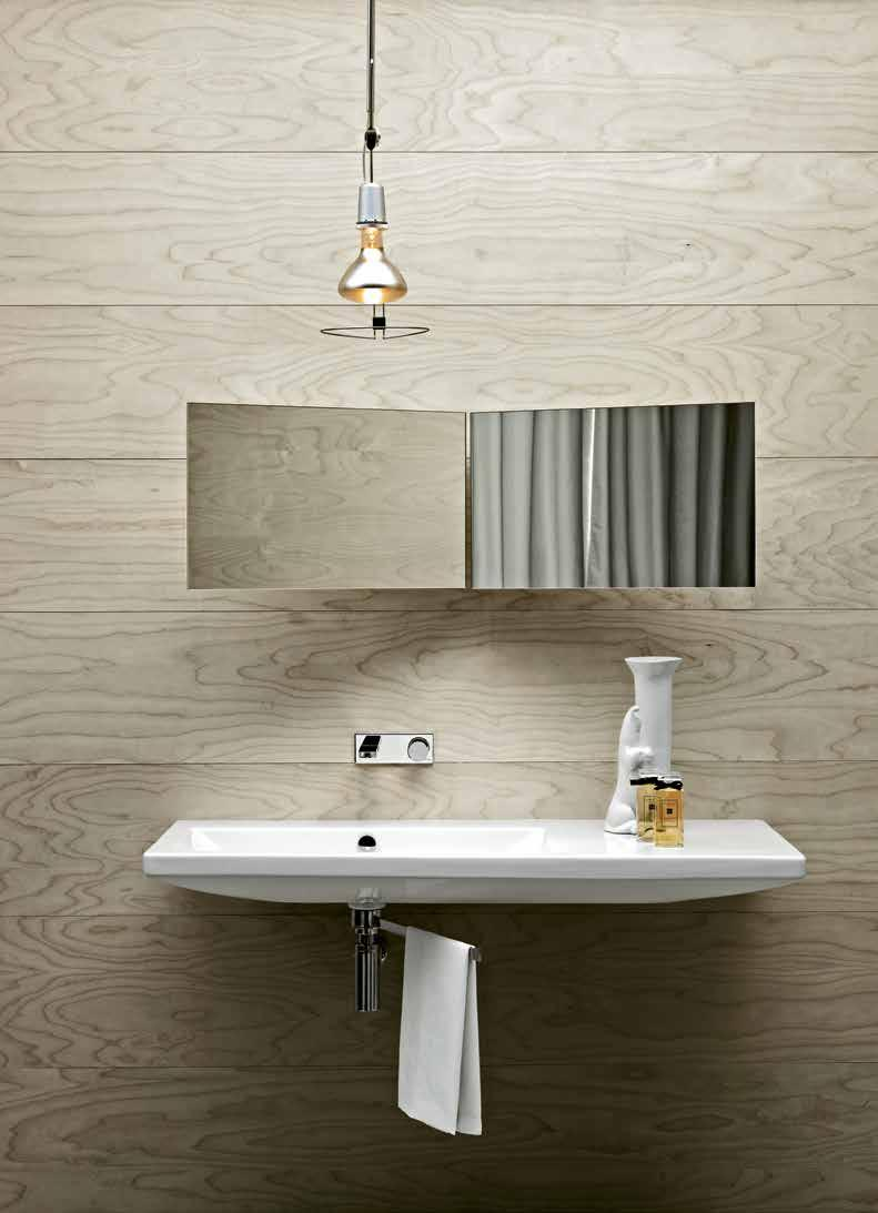 5kg 297 THI75MB1/SOSP 110cm Wash Basin Wall-Hung Size: 110x50x14cm Weight: 21.