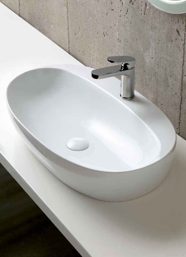 Wall-Hung Size: 75x45x13cm Weight: 18kg 613 EQA75MB1 122cm Double Wash Basin Sit-On / Wall-Hung Two tap holes* Size: 122x45x13cm