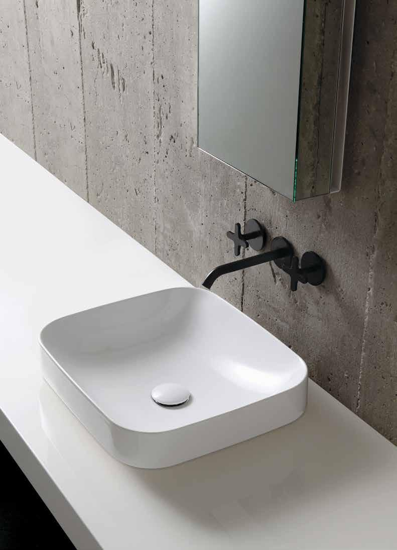 ESO75B1 Ceramic Colours 1250 90cm Wash Basin Sit-On / Inset Size: 90x40x14cm Weight: 20kg 697 ESO90B1 Available by
