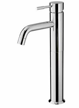 height: 26cm 210 BAR4020 Wall-Mounted Basin Taps Single-lever basin