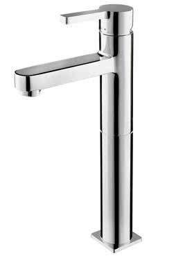 Moda Basin Taps Single-lever basin mixer Deck-mounted (LP/HP) 150 BM03010 Single-lever, tall