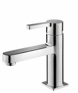 Single-lever basin mixer set Wall-mounted Spout reach: 18cm 227 BMO3030 Water Pressure: Brass