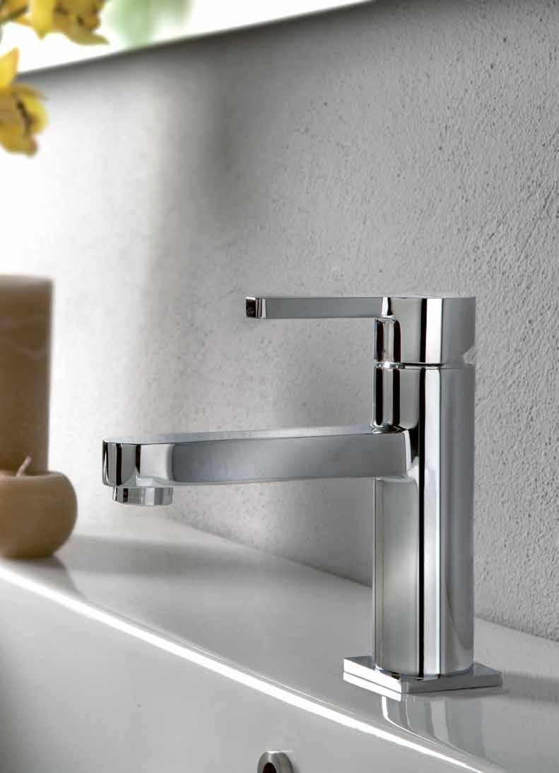 NB: Basin mixer taps have been adjusted to operate on both Low and High pressure where you see
