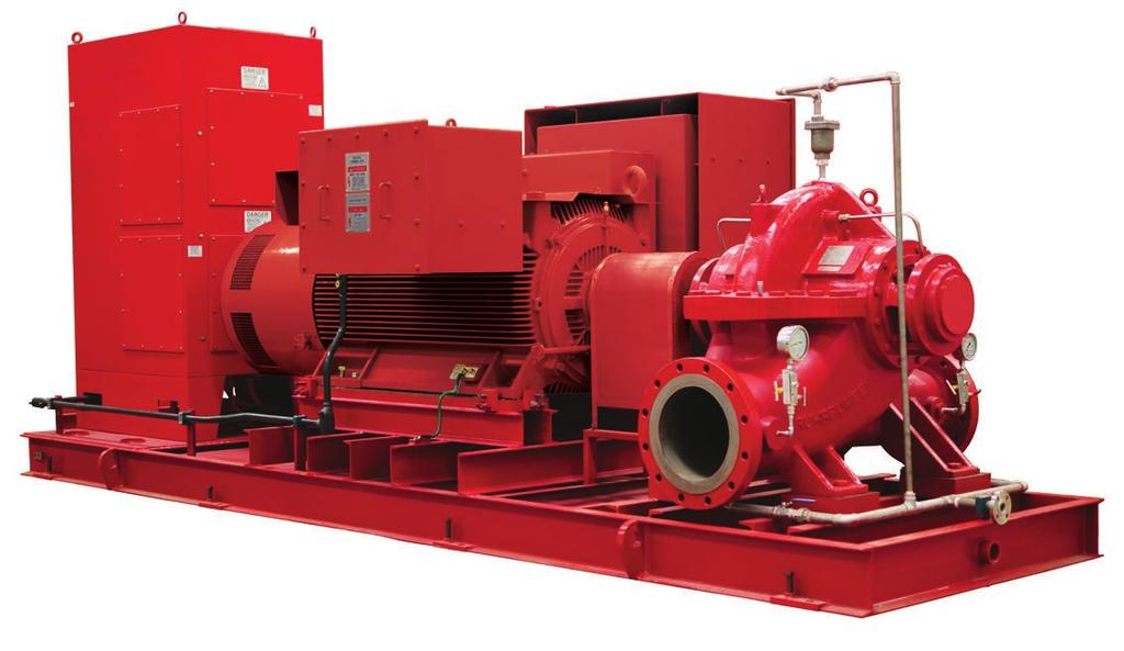 Other (optional) features of Ruhrpumpen s Pre-Packaged Fire Systems: Our marine fire suppression systems offer high performance coating systems for corrosive or coastal environments Stainless piping
