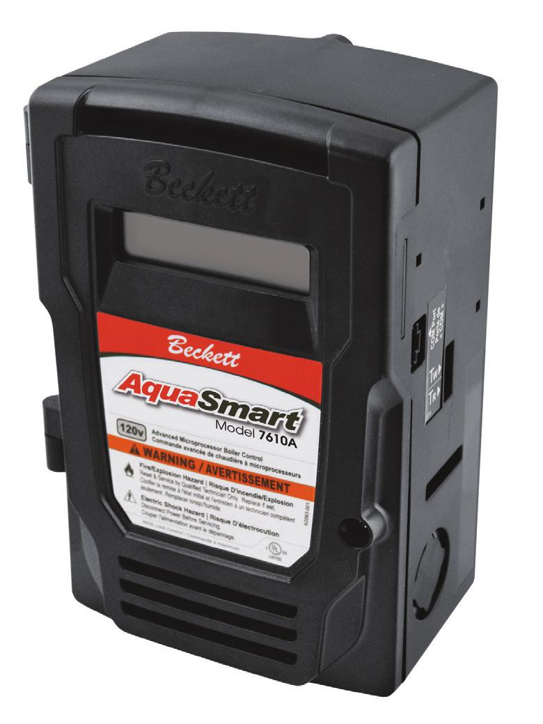 Model 7610 Description Applications Pdf White Rodgers Thermostat Wiring 1f82 51 The Beckett Aquasmart Advanced Boiler Control Is A Ul Limit