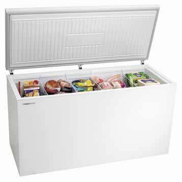 CHEST FREEZERS Westinghouse provides a great range of chest freezers from 150 litres through to 700 litres, some of the biggest available, meeting the needs of every household.