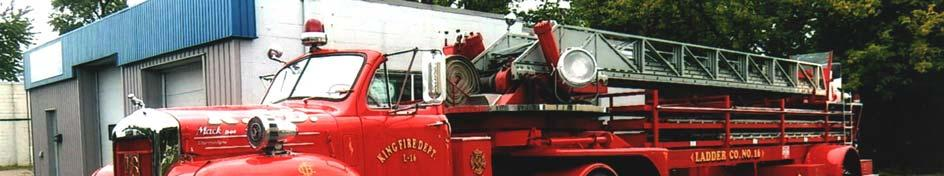 2016 ST. THOMAS MUSTER RIGS 1910 & 1920 Wirt & Knox Two-Wheeled Hose Carts Lee Burrows, Dresden 1915 Seagrave 750 GPM Pumper, ex-champaign, Ill.