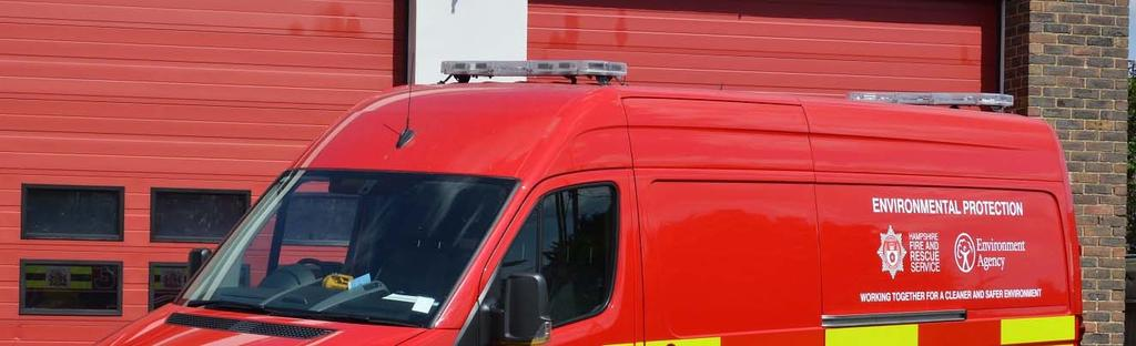 Two Environmental Protection Units are operated by Hampshire Fire and Rescue Service,