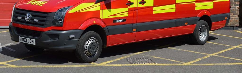 This example is based at Romsey Fire Station.