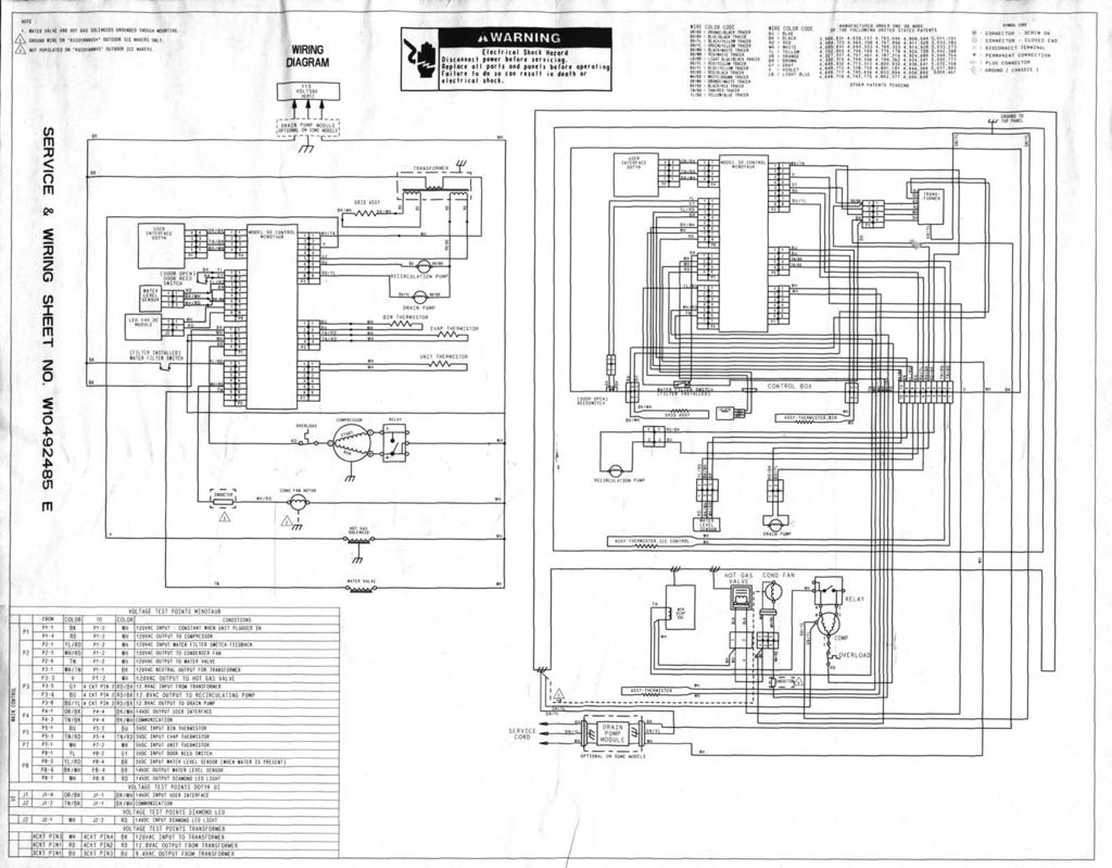 Service And Wiring Sheet Pdf Electric Latch Retraction Diagram 5