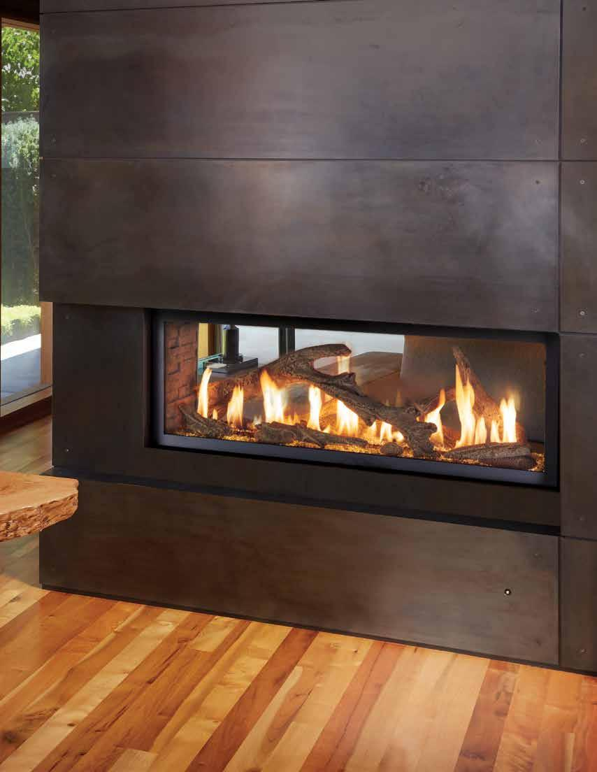 1 Linear Gas Fireplaces