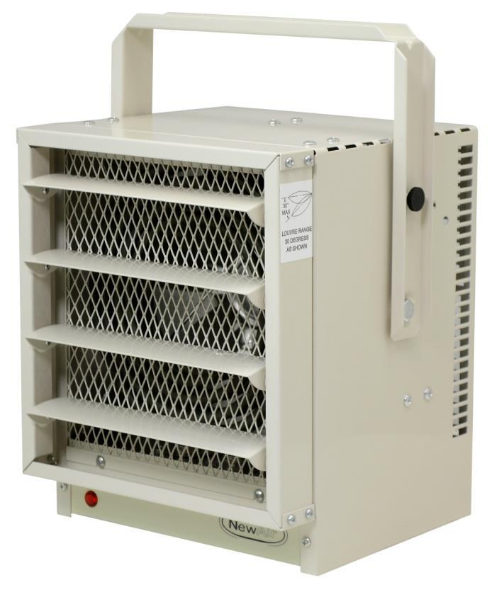 1 Electric Garage Heater G73 OWNERS MANUAL Read And Save These Instructions.