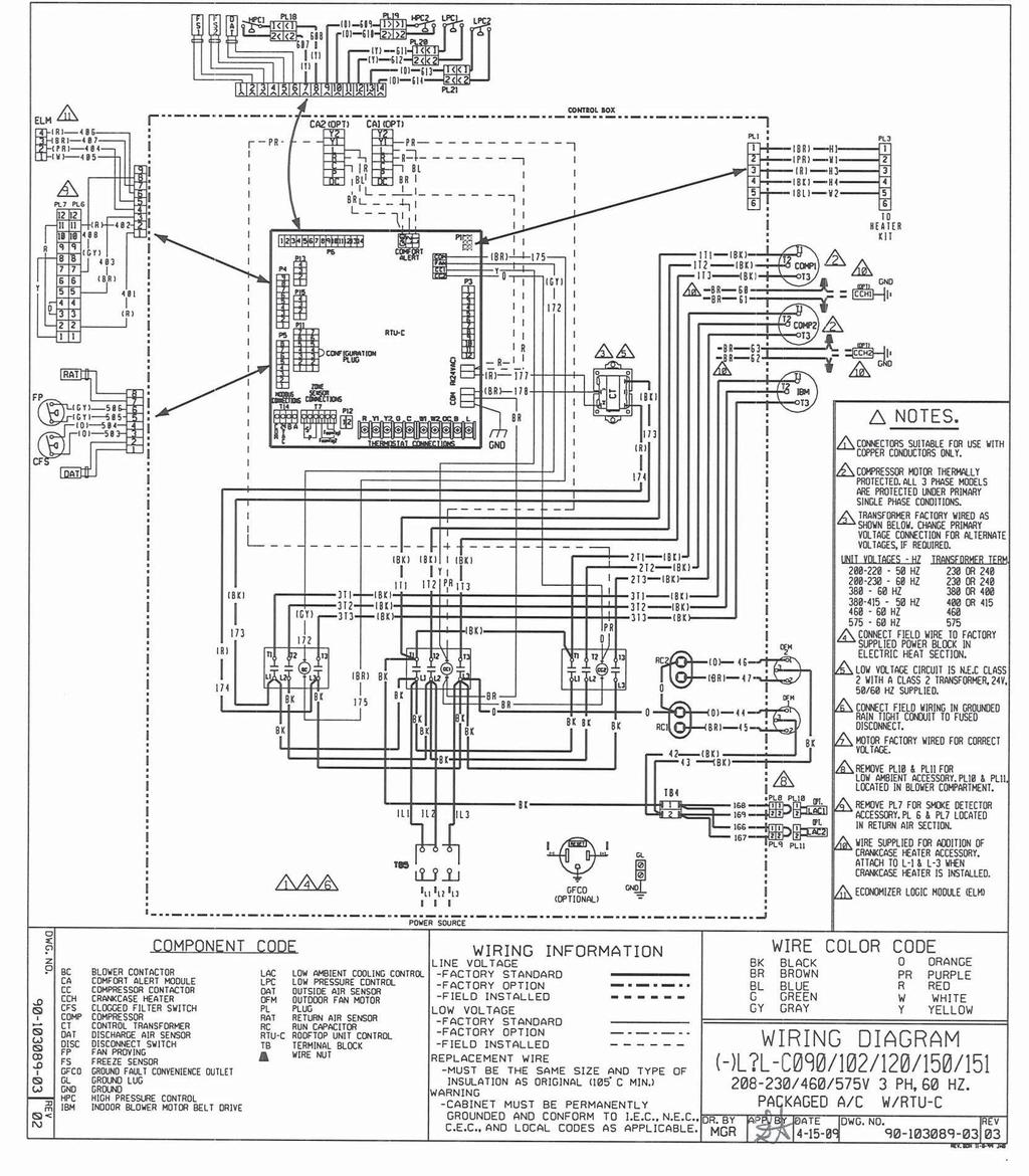 Rheem Commercial Prestige Series Package Air Conditioner Pdf 24 Volt Coil Wiring Diagram 63 Diagrams