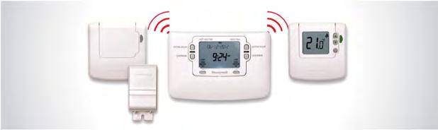 A B C D E F G H I J K L M N O P Q R S T U V W X Y Z No-hassle heating controls Wireless heating controls are easy to install.