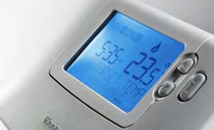 A B C D E F G H I J K L M N O P Q R S T U V W X Y Z Programmable room thermostat This control lets you choose when you want the heating to be on, and what temperature it should reach while it is on.