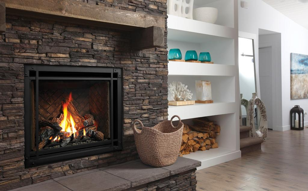 B E N T L Y Zero Clearance Direct Vent Gas Fireplace Unit Ilrated Is Zcv39nh