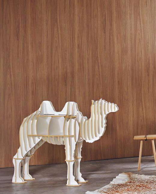 LAMINATE ON WALL PILAR NOGAL AMERICANO WY 1274D BY NATURE'S WAY Named for the country which inspired its design, this