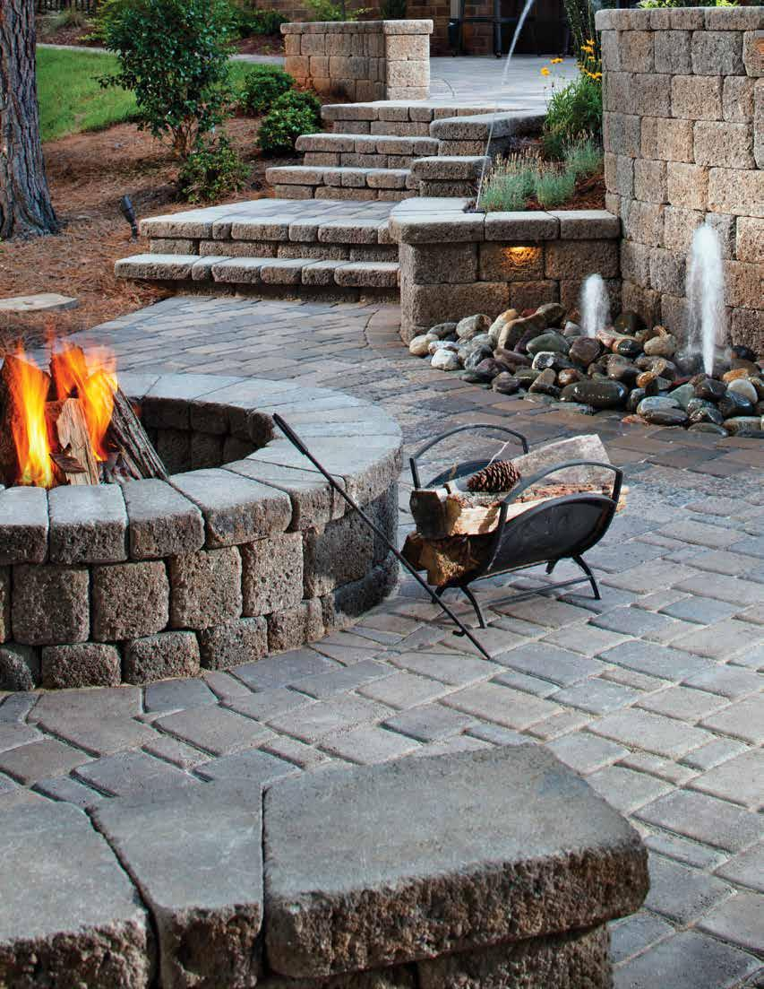 1 Keystone Product Catalog Walls Patio Stones Pavers Edgers Outdoor Living
