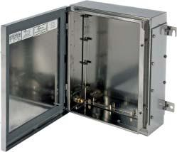 EJB Enclosures Premium NEMA 7 explosionproof enclosure available in a variety of sizes