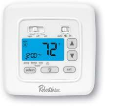 THIS IS THE ROBERTSHAW FULL-LINE THERMOSTAT CATALOG - PDF