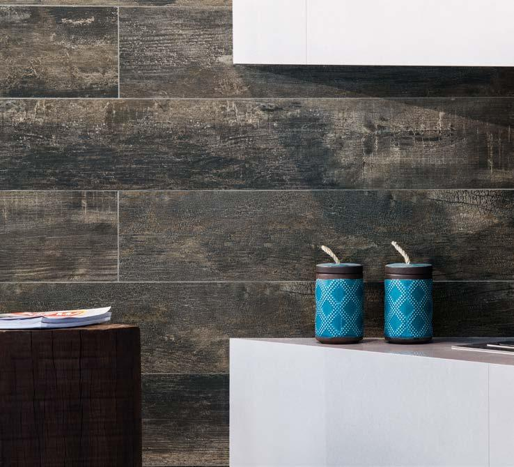 ECO DARK HD The daring look of burned wood with striking details and natural reference.