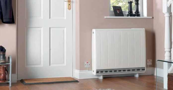 A Glen Dimplex Heating & Ventilation Brand heating system The heater that adapts to its environment Quantum is up to 27% cheaper to run and uses 22% less energy than comparable static storage