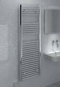 The element is easily replaceable at end of life so that the whole towel rail doesn t have