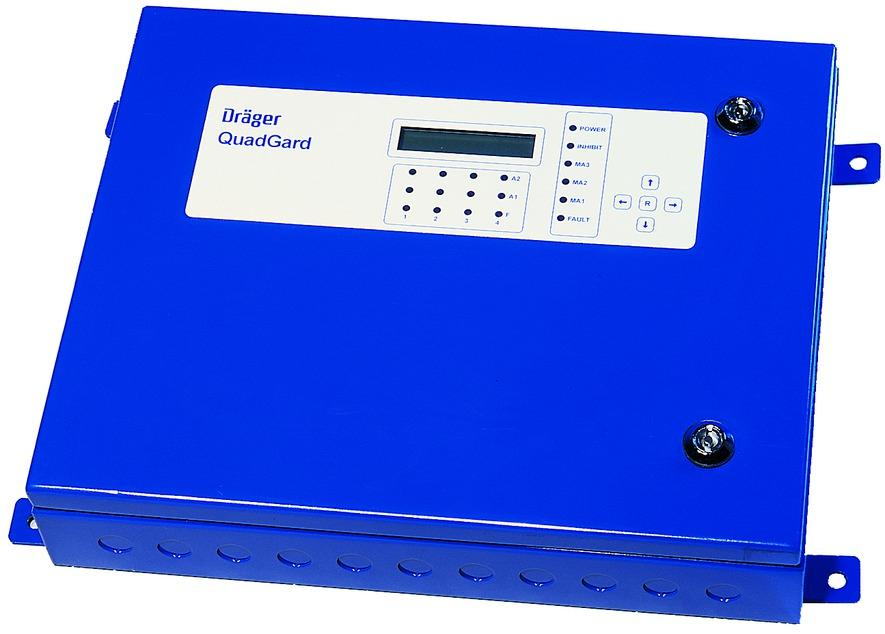 Dräger QuadGard Control System The Dräger QuadGard is a standalone, self contained control system for the