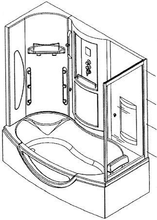 Steam Room With Tub Installation Operation Manual Mk547