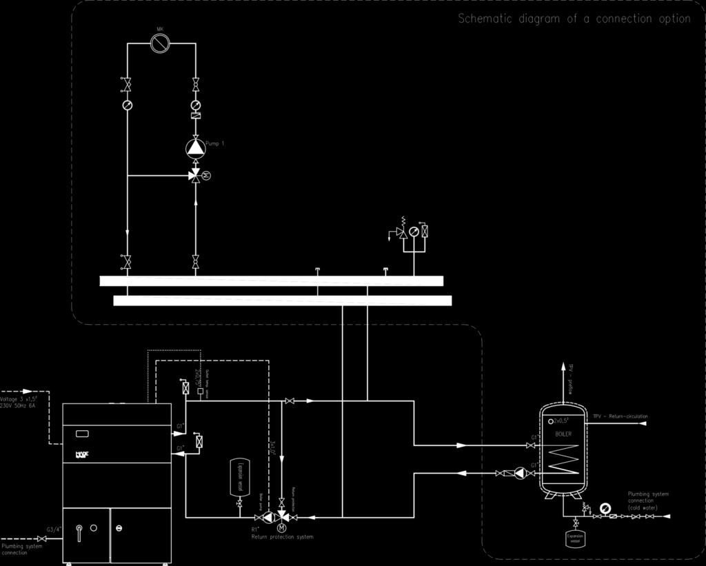 Pellet Boiler Pp27a G3 Instructions For Use Maintenance And Hopper Wiring Diagram Connection