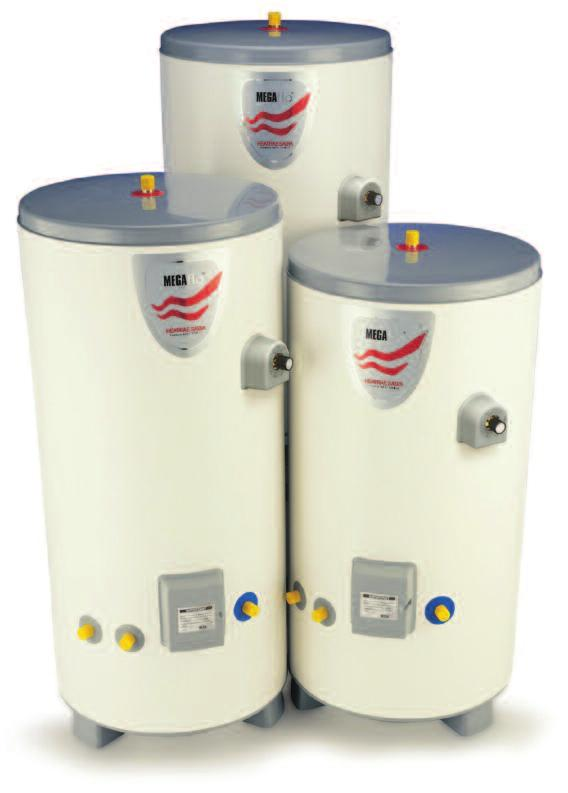 Introduction 03 Megaflo HE UNVENTED WATER HEATING Nothing quite matches the warm welcome offered to you by the outstanding range of unvented water heating systems from Heatrae Sadia.