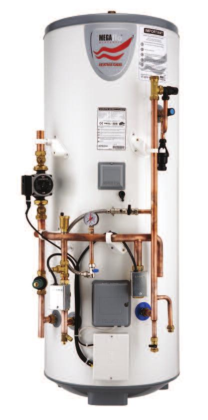 These factory assembled units are pre-plumbed and pre-wired with 230V central heating controls, pump, two 2-port motorised valves, automatic by-pass and balancing valve, Primary system filling loop,