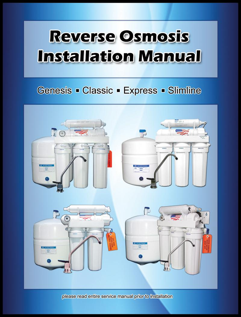 Starting Your Installation Component Checklist 1 Storage Tank Ro Genesis Vertical Lift Wiring Diagram Transcription