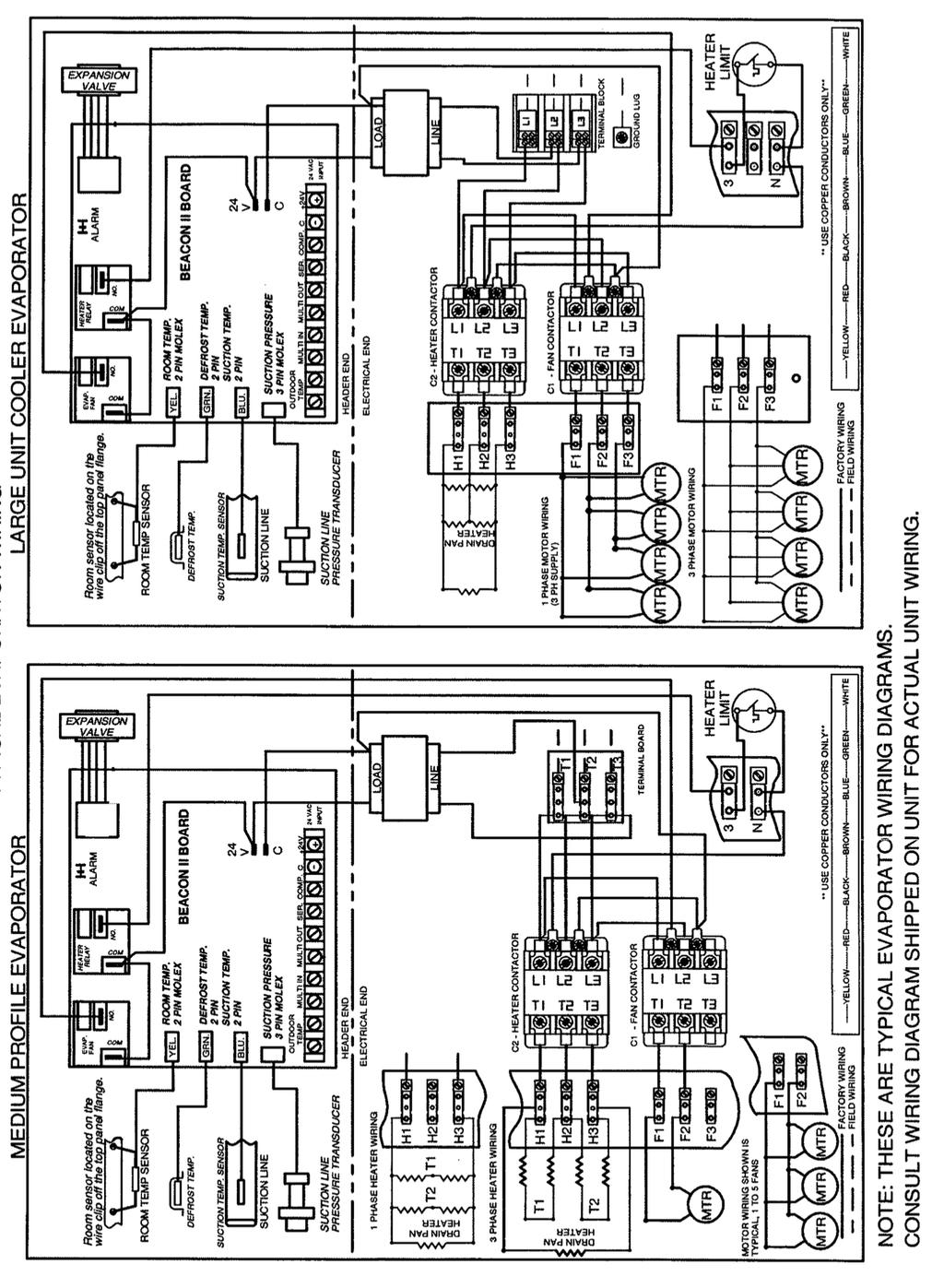 Installation And Operation Manual Pdf Low Temperature Defrost Timer Wiring Diagram Box Typical Electric 31