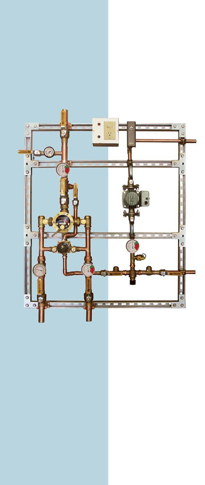 Complete Water Temperature Control System Pdf For An Apollo Hydronic Air Handler That Has A Wiring Diagram The Transcription