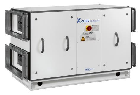 Air handling unit. X-CUBE compact. GB/en. Transport and installation ...