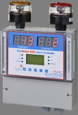 Systems site-proven ST-90 dual channel alarm controller.