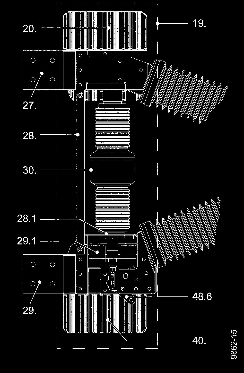 Operating Instructions Pdf Operator For A Circuit On Wiring Diagram Of Vacuum Breaker Description Pole Assembly The 19 3ah4